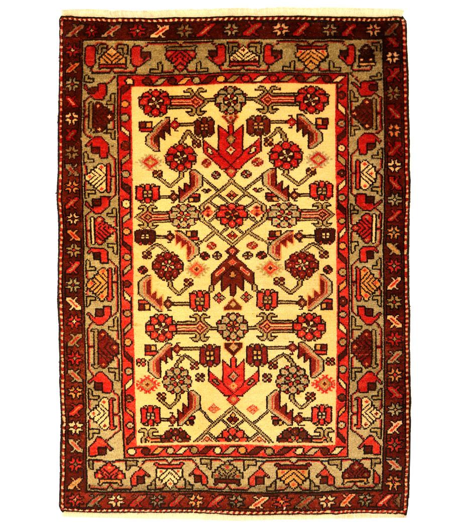 Persa hamedan de lana144 x 101 referencia 8 alfopersia for Alfombras persas outlet