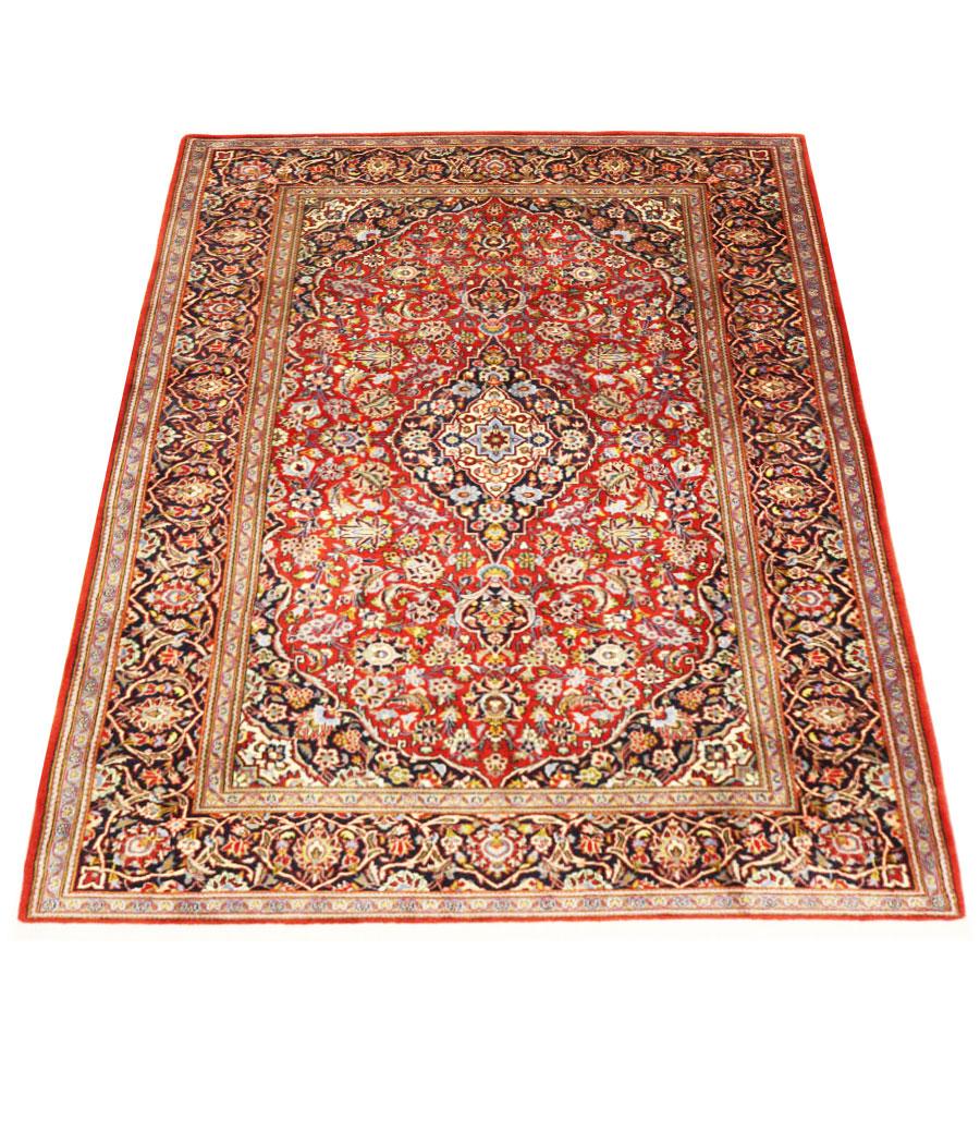 alfombra persa kashan de lana kork y hecha a mano n 452