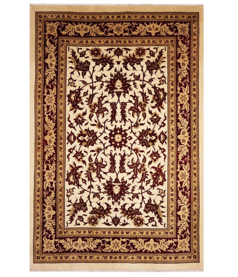Alfombra persa zigler de lana y hecha a mano n 260 - Alfombras hechas a mano con lana ...