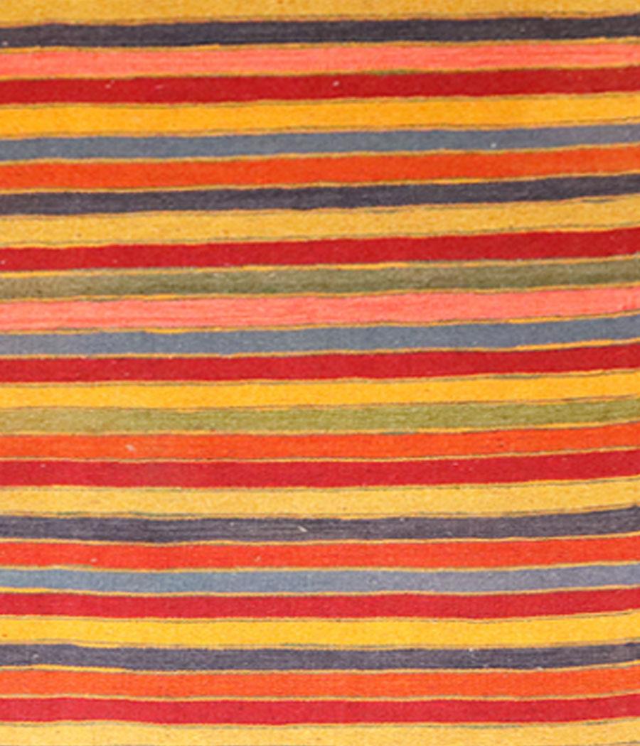 Kilim persa shiraz de lana y hecha a mano n 591 alfopersia for Tejido persa