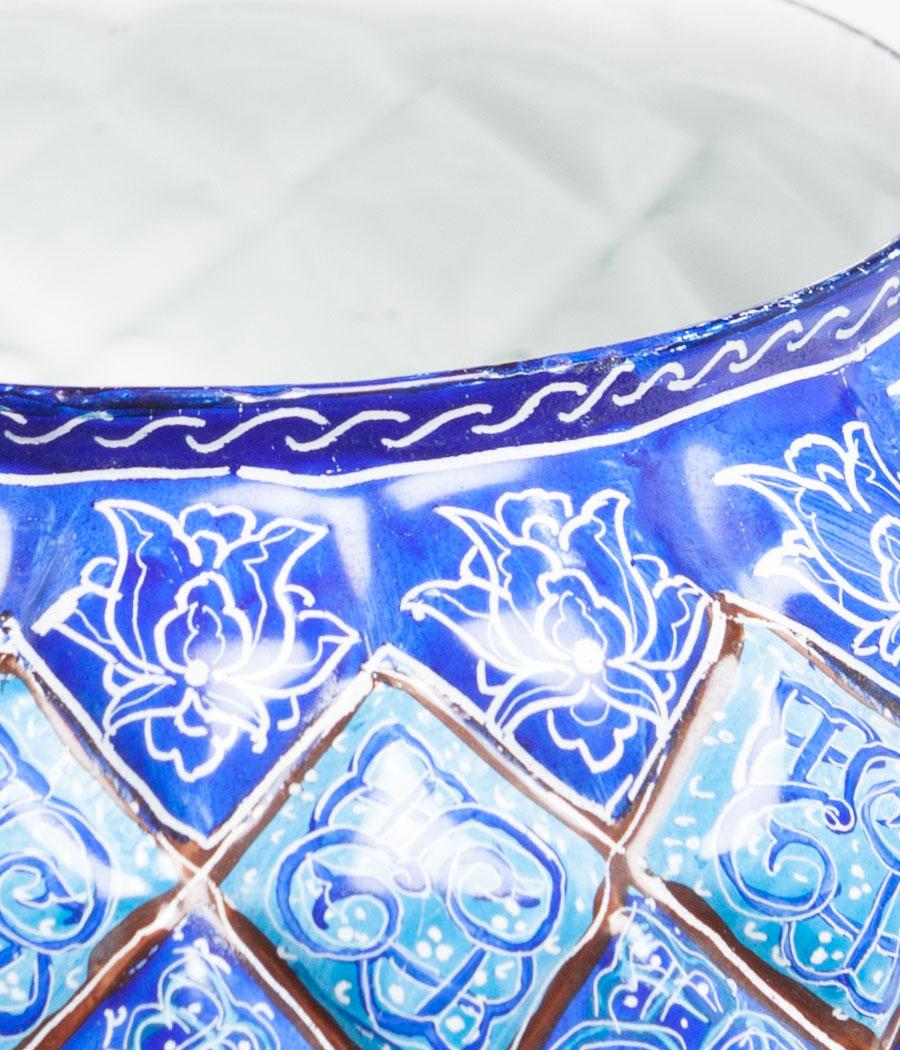 Bombonera persa minakari con tapa pintada a mano sobre for Jarrones persas