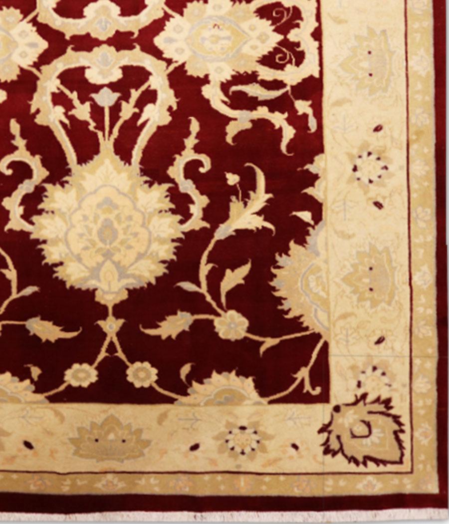 Alfombra persa de lana hecha a mano decoraci n para el hogar - Alfombras hechas a mano con lana ...