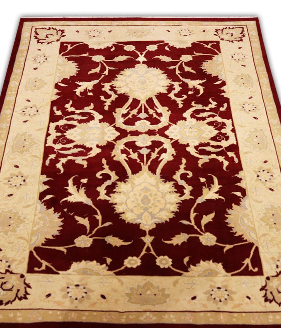 Alfombra persa de lana hecha a mano decoraci n para el hogar for Alfombras hechas con lana