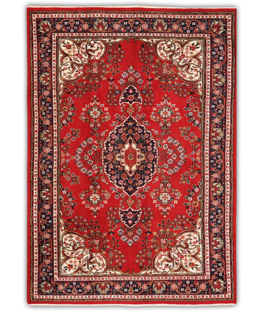 Alfombra india sarugh de lana y hecha a mano n 218 for Alfombra kilim precio