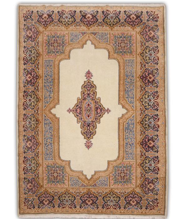 Alfombra persa kerman de lana y hecha a mano n 496 - Alfombras hechas a mano con lana ...