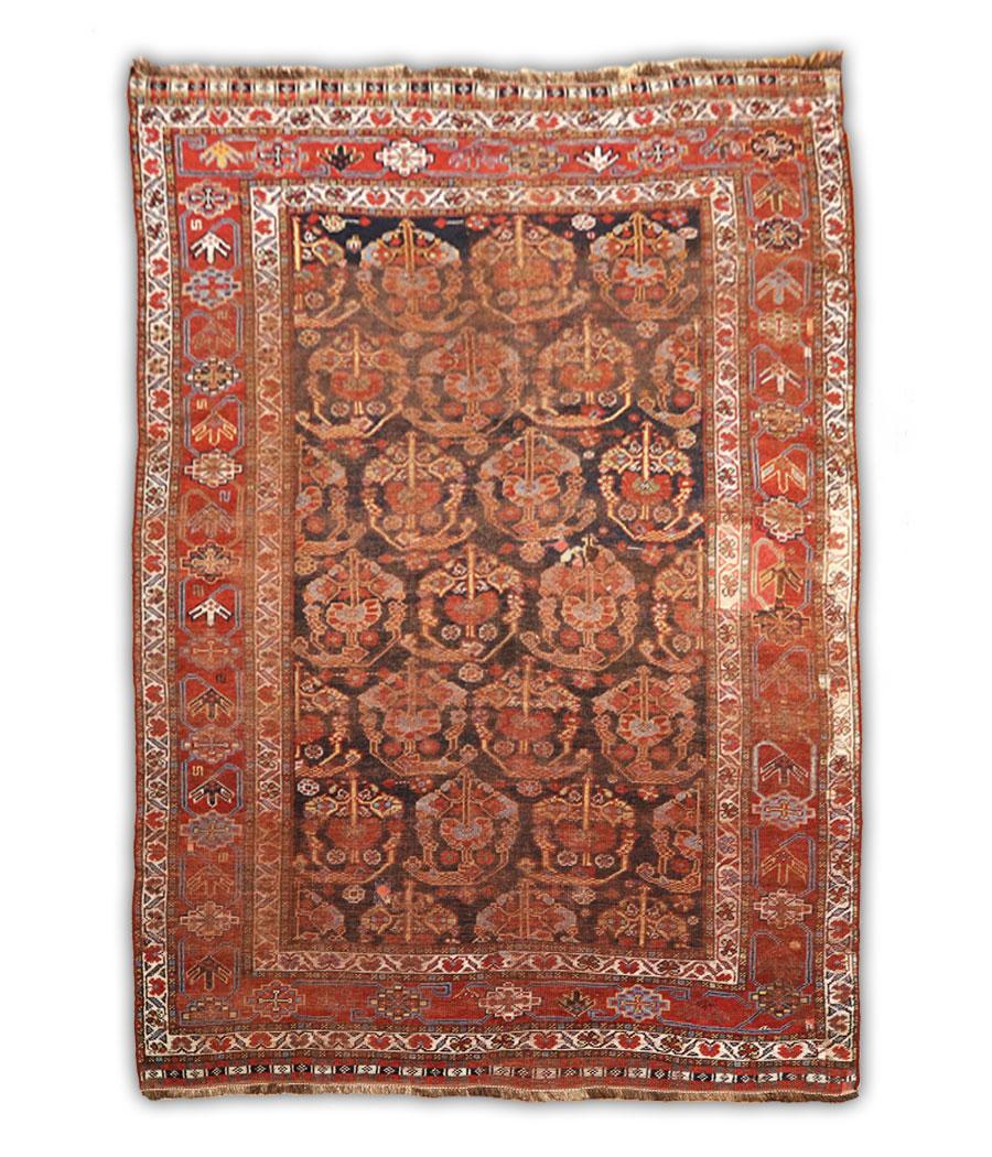 Alfombra persa shiraz de lana y hecha a mano n 798 alfopersia - Alfombras a mano ...
